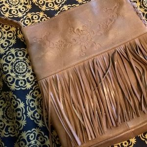Vintage fossil leather purse